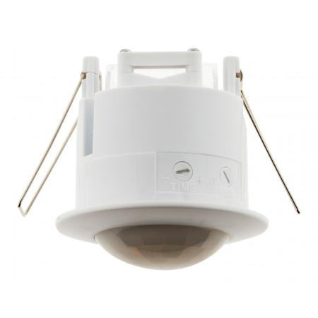 Détecteur de mouvement plafond encastrable blanc