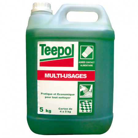 Détergent multi-usages 5L TEEPOL