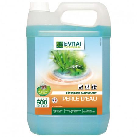 Détergent parfumant perle d'eau 5L LE VRAI
