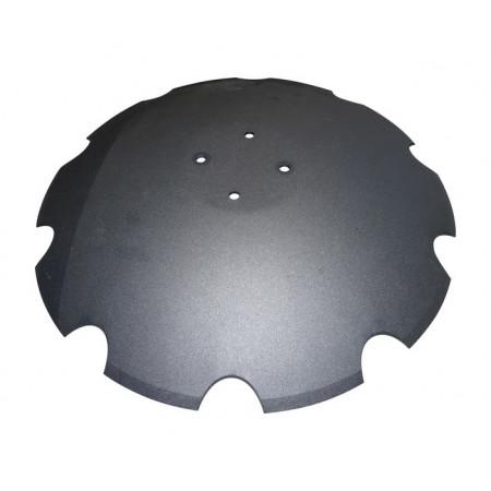 Disque bombe crénelé Ø 580mm pour POTTINGER 977030250 EE
