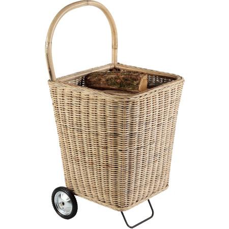Chariot à bois Nomad naturel
