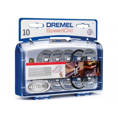 Coffret 10 disques à tronçonner Ez Speedclic DREMEL®