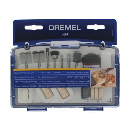 Coffret 20 accessoires Nettoyage-Polissage DREMEL®