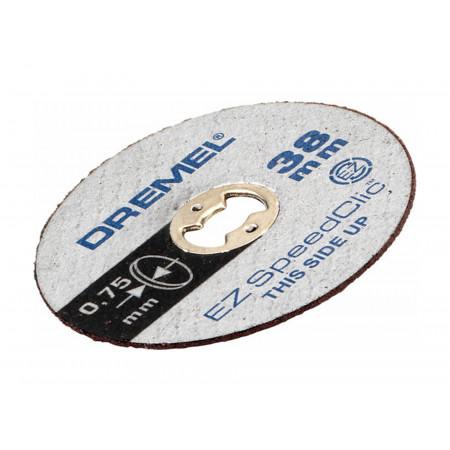 Disques Ez Speedclic métaux Ø38mm fins (SC409) DREMEL® x5