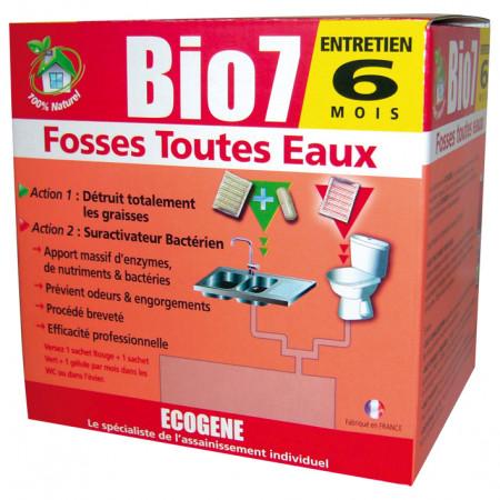 Ecogène spécial fosses toutes eaux 1kg BIO7