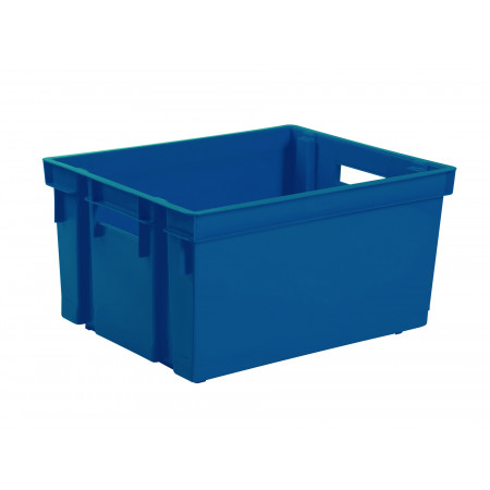 Bac manutention 30L Bleu