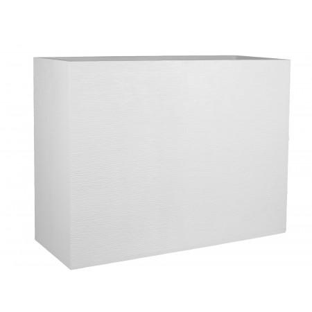 Jardinière muret EDA Loft 80cm Blanc