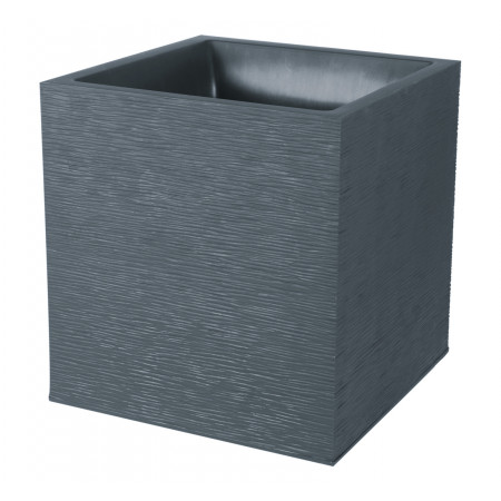 Pot carré EDA Graphit 39cm Anthracite