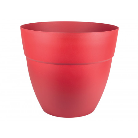 Pot EDA Cancun rouge rubis Ø70cm