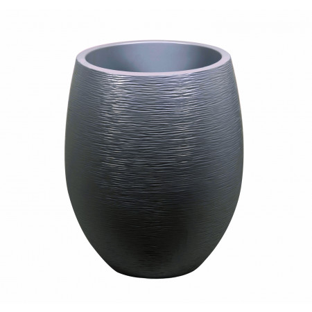 Pot EDA Egg Graphit XL Ø50 Anthracite