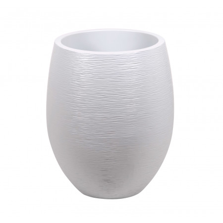 Pot EDA Egg Graphit XL Ø50 Blanc