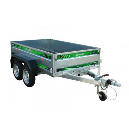 Remorque 2 essieux 3,27m PTAC 1500kg DAXARA 239X4F