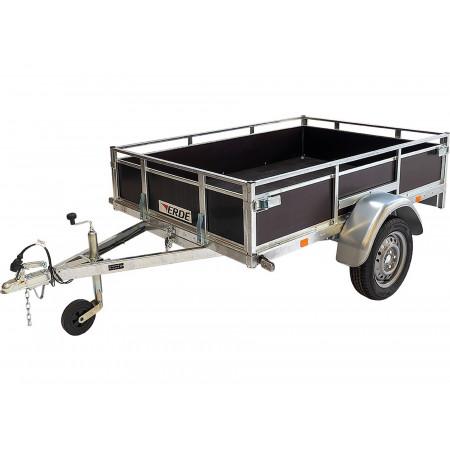 Remorque bois PTAC 500-750kg ERDE EXPERT LC 201