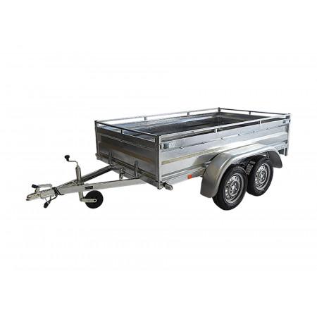 Remorque double essieu ERDE Expert LC252 Pro L.2,50m 750kg