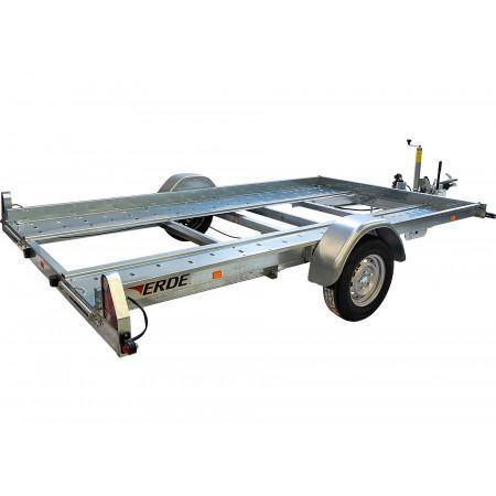 Remorque porte voiture ERDE Expert L.3.50m 1300kg