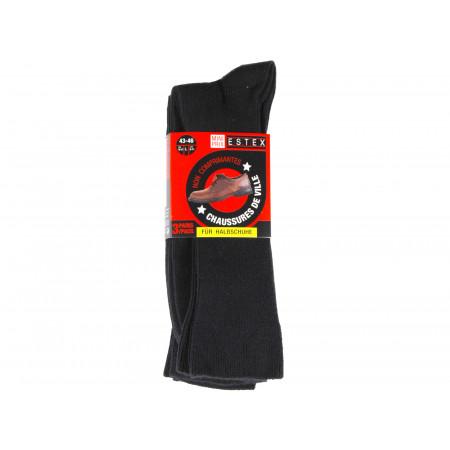 Chaussettes ESTEX Coton soft x3