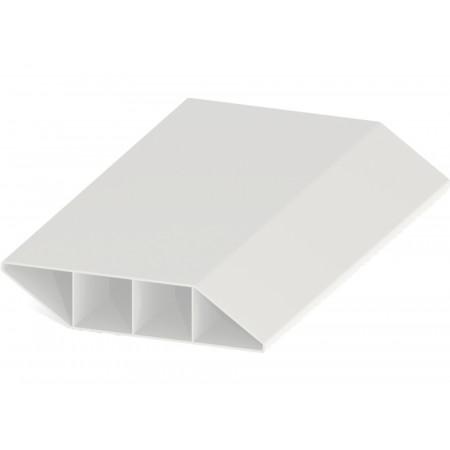 Lame brise vue PVC Zeneo blanc 1,50m