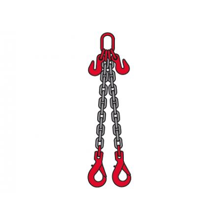 Elingue chaine 13mm 2brins CCVA+RO Longueur Utile : 2M