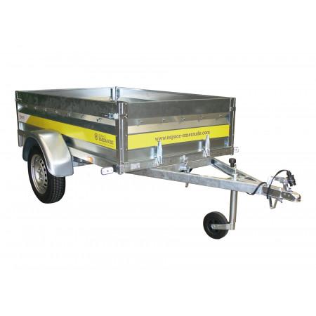 Remorque basculante 1,70m 500kg ESPACE EMERAUDE EM171
