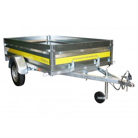 Remorque basculante 2,50m 500kg ESPACE EMERAUDE EM251