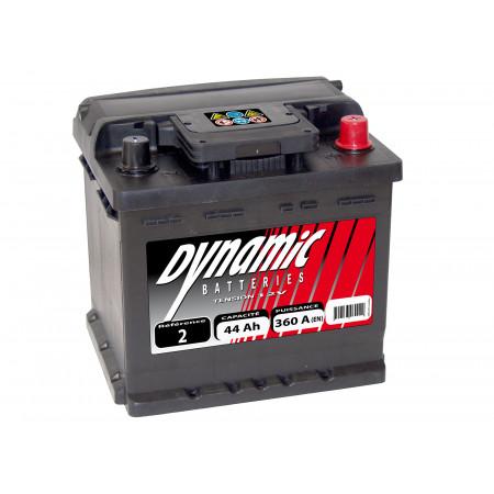 Batterie 12V N°2 EXIDE Dynamic 44Ah 360A