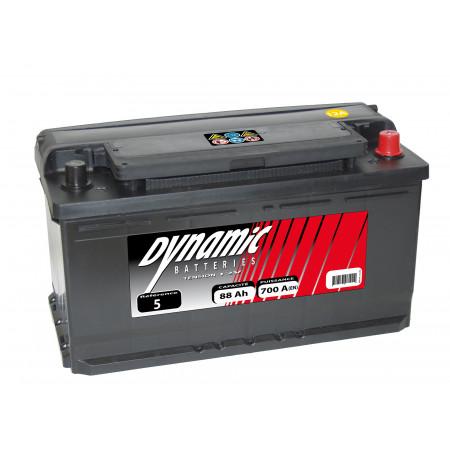 Batterie 12V N°5 EXIDE Dynamic 90Ah 720A