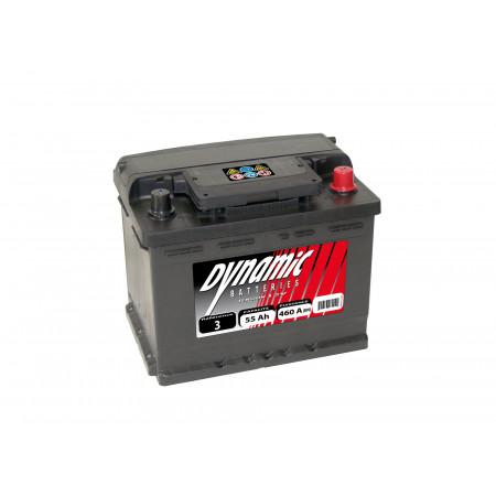 Batterie 12V N°6 EXIDE Dynamic 50Ah 450A