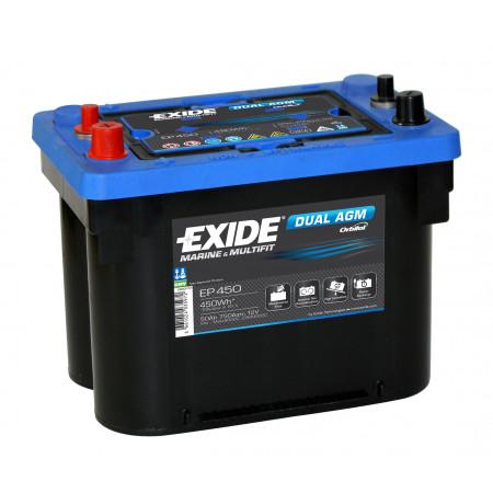 Batterie EXIDE DUAL AGM 12V 50AH