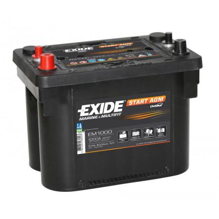 Batterie EXIDE START AGM 12V 50AH