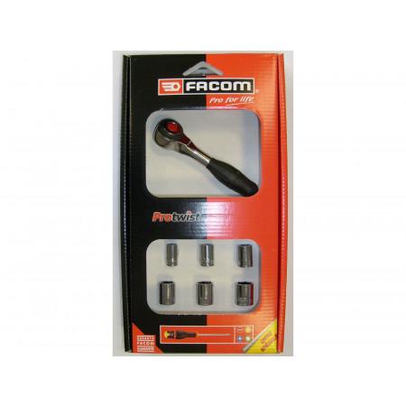 Coffret 7 outils de serrage 1/4'' FACOM