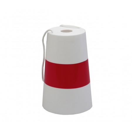 Fardier plastique rouge/blanc ht200