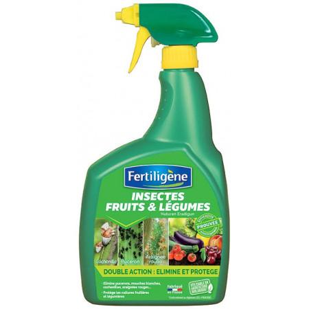 Insecticide fruits et légumes 800ml FERTILIGENE
