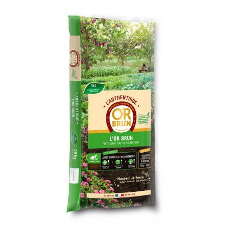 Fertilisant toutes plantations L'Authentique L'Or Brun 20kg