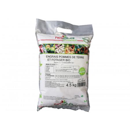 Engrais bio pommes de terre et potager 4,5kg