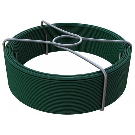 Fil d'attache vert Ø1,50 L50m