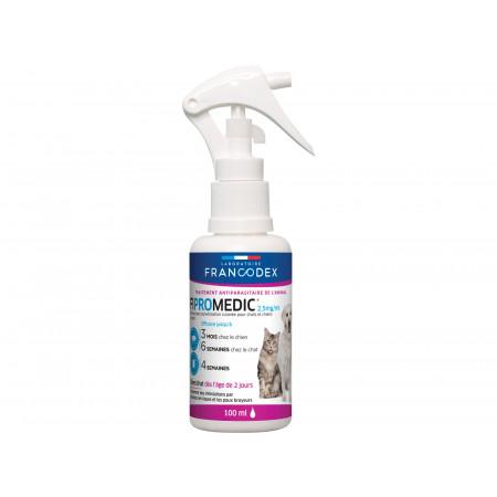 Anti puces et tiques chien et chat FIPROMEDIC 100ml