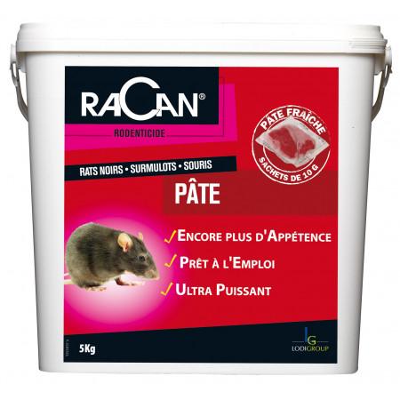 Pâte raticide Difénacoum 5kg - RESERVE AUX PROFESSIONNELS