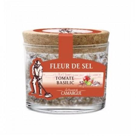 Fleur de sel Camargue Tomate & Basilic 130g