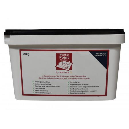Matériau de jointoiement Weatherpoint 365 20kg Anthracite