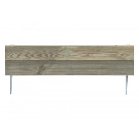 Bordure Mérina 18x75cm bois vert