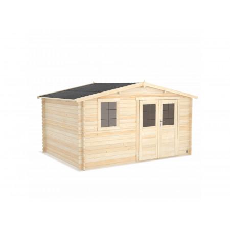 Abri de jardin bois Onega 11,9m²