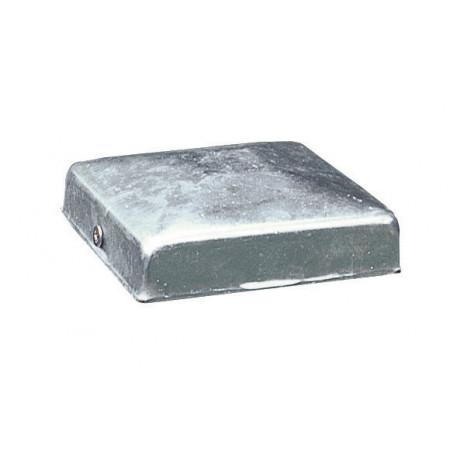 Pyramide galvanisée pour poteau 7x7cm x2