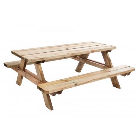 Table de pique nique en bois Matisse 1.80m