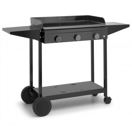 Chariot acier pour plancha Forge Adour Origin 75
