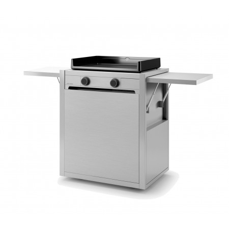 Chariot inox pour plancha Forge Adour Modern 60
