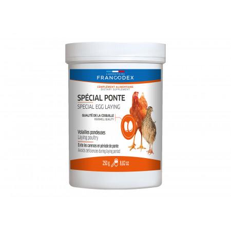 Aliment poule pondeuse spécial ponte Francodex 250g