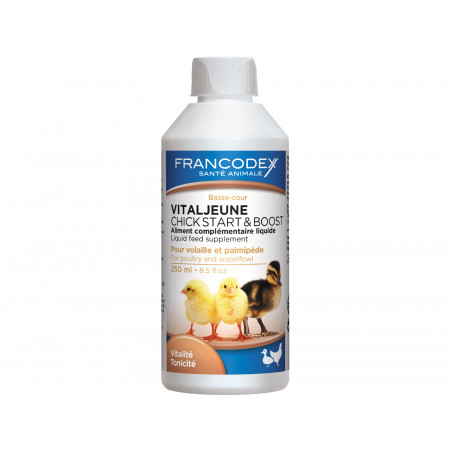 Complément alimentaire poussins Francodex 250ml