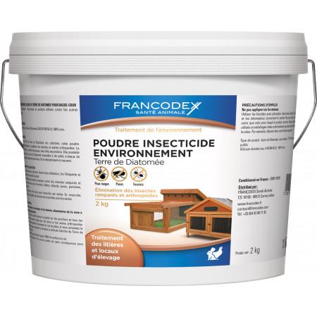 Poudre insecticide basse cour Francodex 2kg
