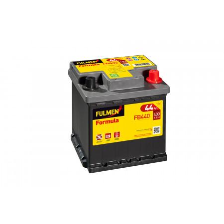 Batterie 12V FULMEN Formula FB440 44Ah 400A +D