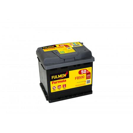 Batterie 12V FULMEN Formula FB500 50Ah 450A +D
